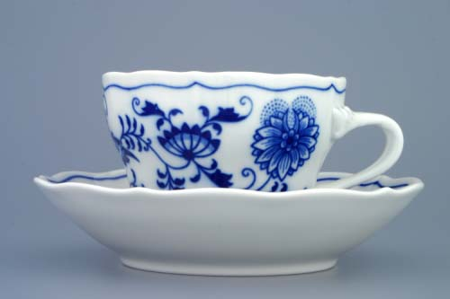 šálek a podšálek C 0,25 l originální český porcelán Dubí