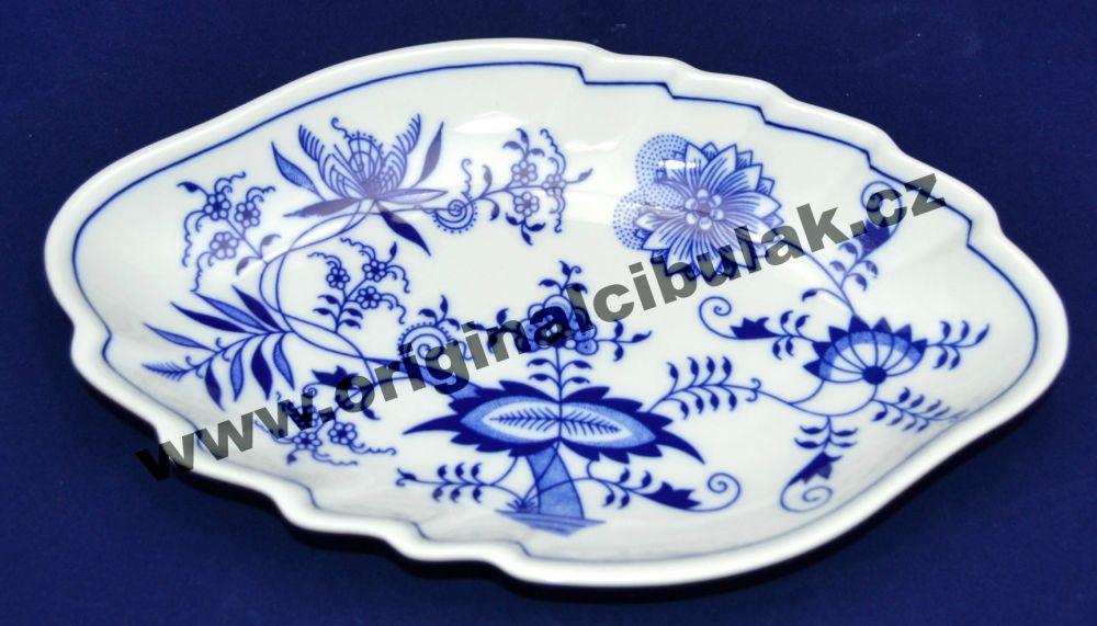 mísa cibulák dvojlist 24 cm originální český porcelán Dubí