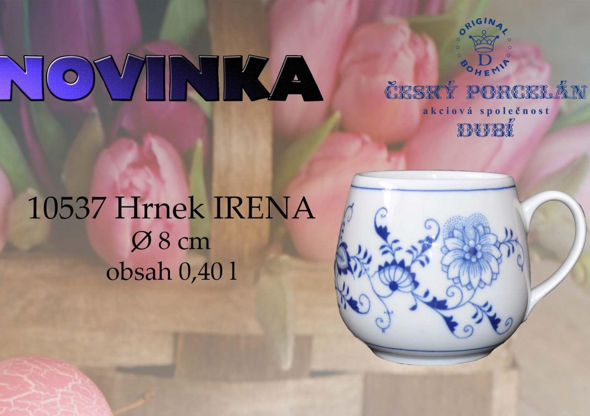 hrnek cibulák Irena 0,40 l originální český porcelán Dubí