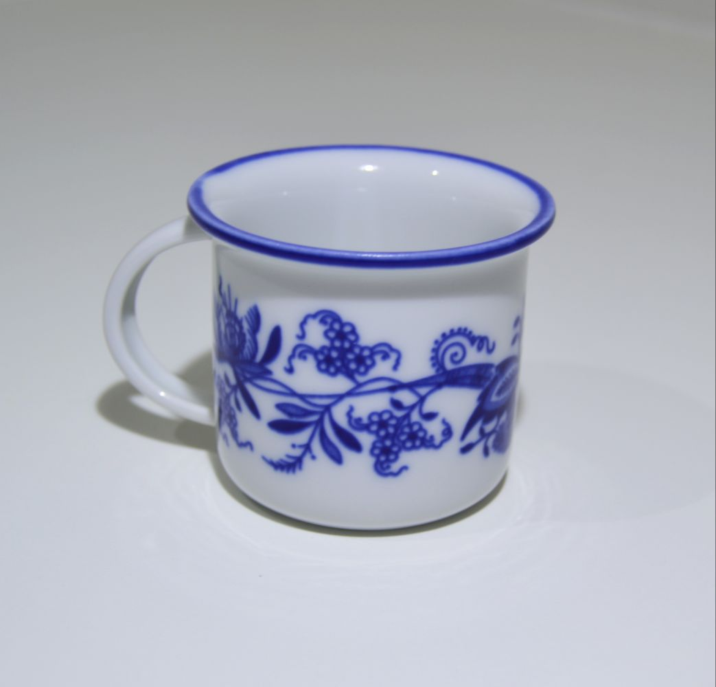 cibulák hrnek Tina 0,1 l originální český porcelán Dubí