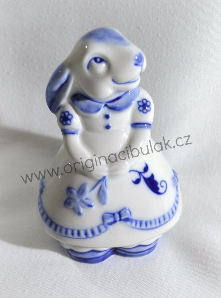 cibulák Zaječice 10 cm originální český porcelán Dubí Royal Dux 2.jakost