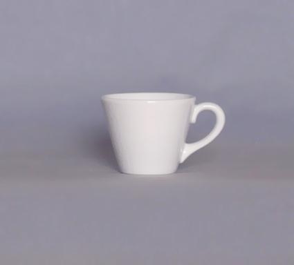 šálek espreso bílý Pavel Český porcelán Dubí 2.jakost