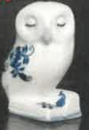 cibulák Moudrá sovička 6cm originální český porcelán Dubí Royal Dux