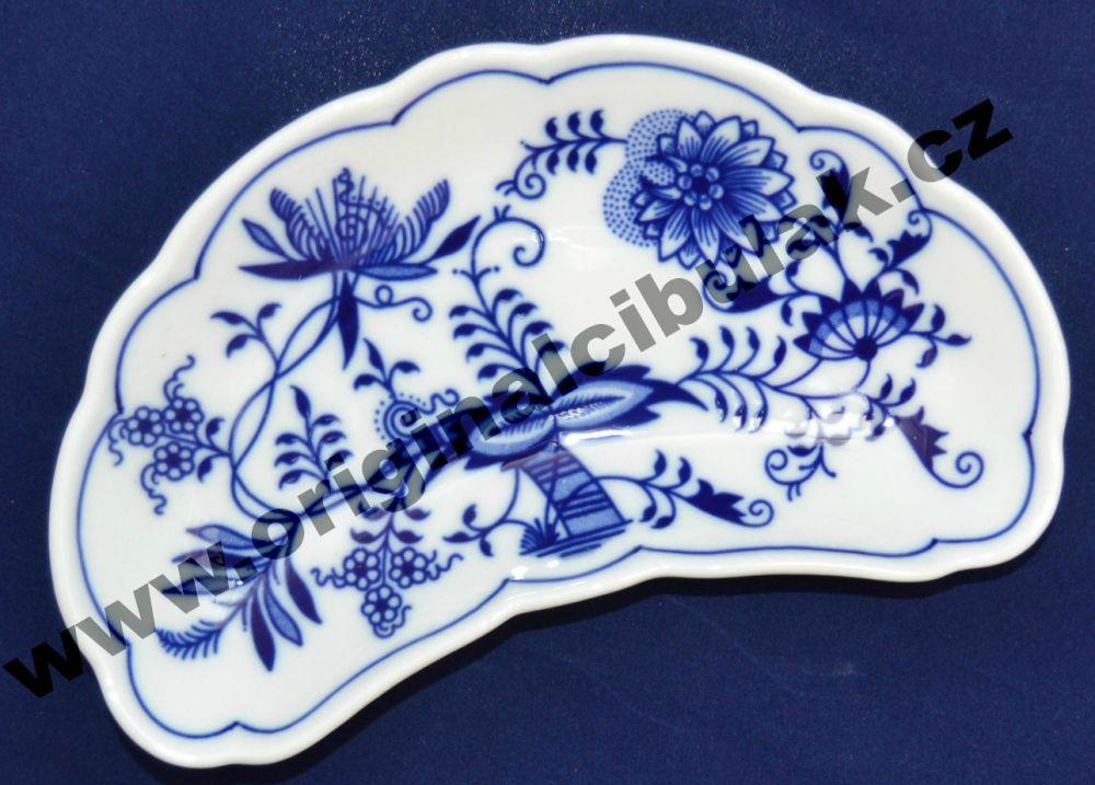 Cibulák miska na kosti 19 cm originální cibulákový porcelán Dubí, cibulový vzor,