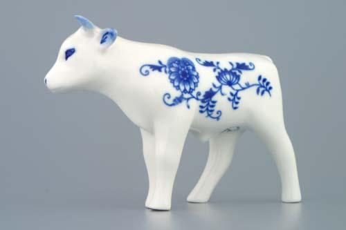 Cibulák Volek 13 cm originální cibulákový porcelán Dubí, cibulový vzor,