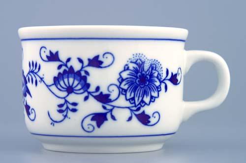 Cibulák Šálek Ben M 0,23 l originální cibulákový porcelán Dubí, cibulový vzor,