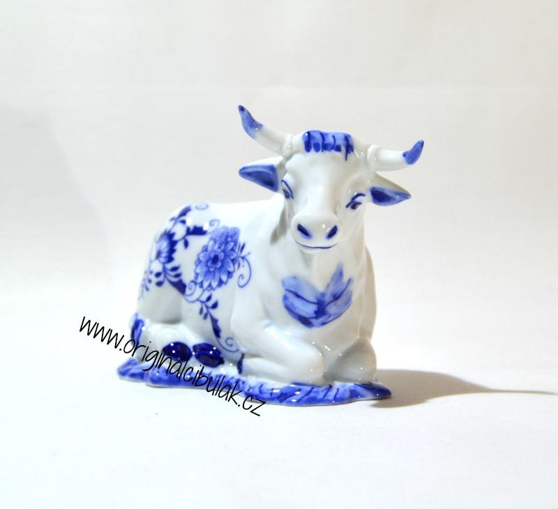 Cibulák Volek 9,5 cm originální cibulákový porcelán Dubí, cibulový vzor,