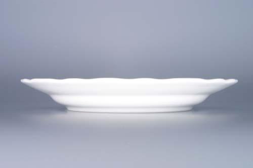 Talíř cibulák mělký 21cm český porcelán Dubí