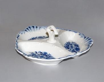 Cibulák Kabaret Aida 20 cm originální cibulákový porcelán Dubí, cibulový vzor
