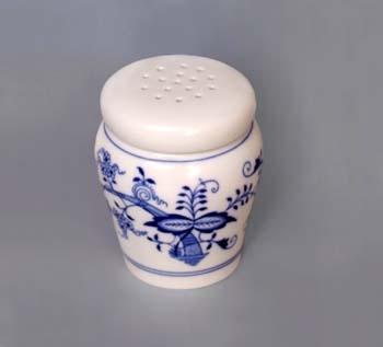 Cibulák dóza na cukr sypátko 0,20 l originální cibulákový porcelán Dubí, cibulový vzor