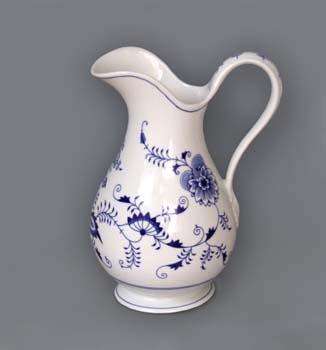 Cibulák Hygienická souprava džbán 5 l originální cibulákový porcelán Dubí, cibulový vzor