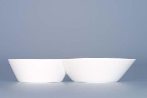 Dvojpodšálek ( káva,čaj ) Bohemia Cobalt - design prof. arch. Jiří Pelcl, cibulový porcelán Dubí