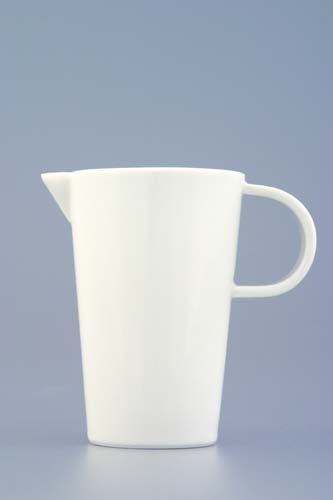 Mlékovka Bohemia White, 0,07 l prof. Pelcl český porcelán Dubí