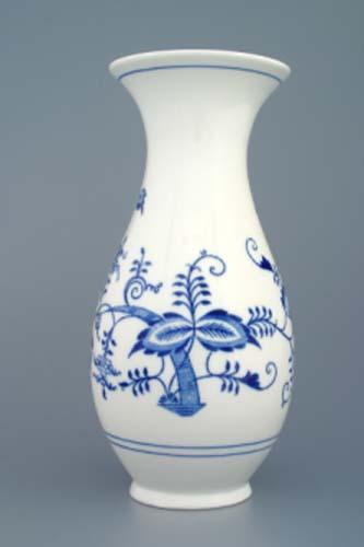 váza cibulák 25 cm český porcelán Dubí