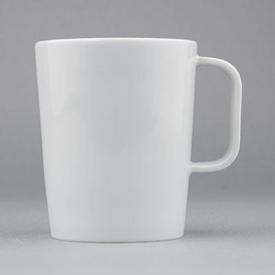 Hrnek porcelánový bílý Hotelový 0,27l porcelán Dubí