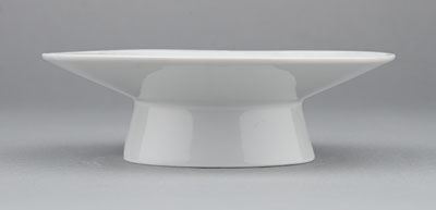 Kalíšek na vejce porcelánový bílý Hotelový 13,7cm Český porcelán Bohemia