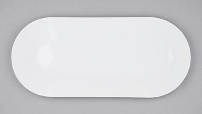 Mísa porcelánová bílá Hotelová oválná 30,5cm Český porcelán Bohemia