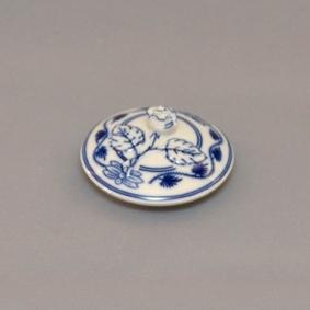 Víčko k cibulákové cukřence s oušky 0,30 l originální cibulákový porcelán Dubí, cibulový vzor
