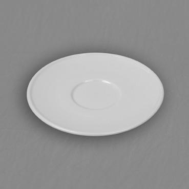 Podšálek bílý Milada 15cm Český porcelán Dubí
