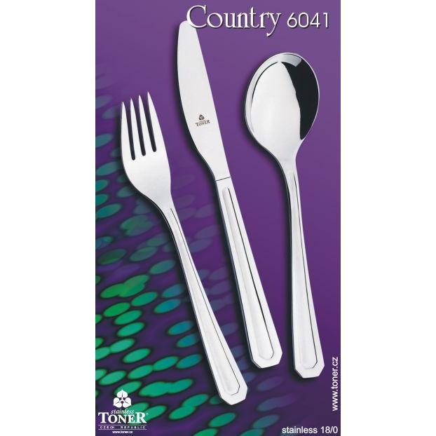 vidlička jídelní TONER Country 1 ks nerez 6041