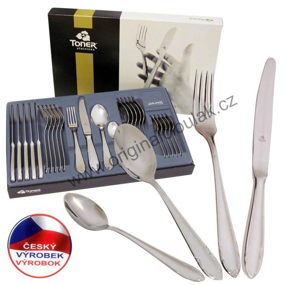 Vidlička jídelní Classic Gold zlacená 1 ks Toner nerez