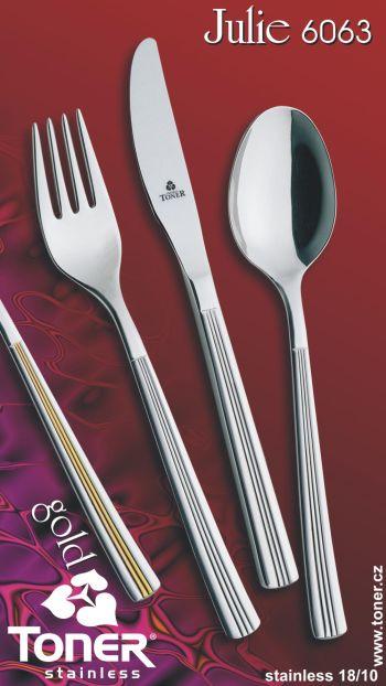 Vidlička jídelní Toner Julie 6063 nerez 1 ks