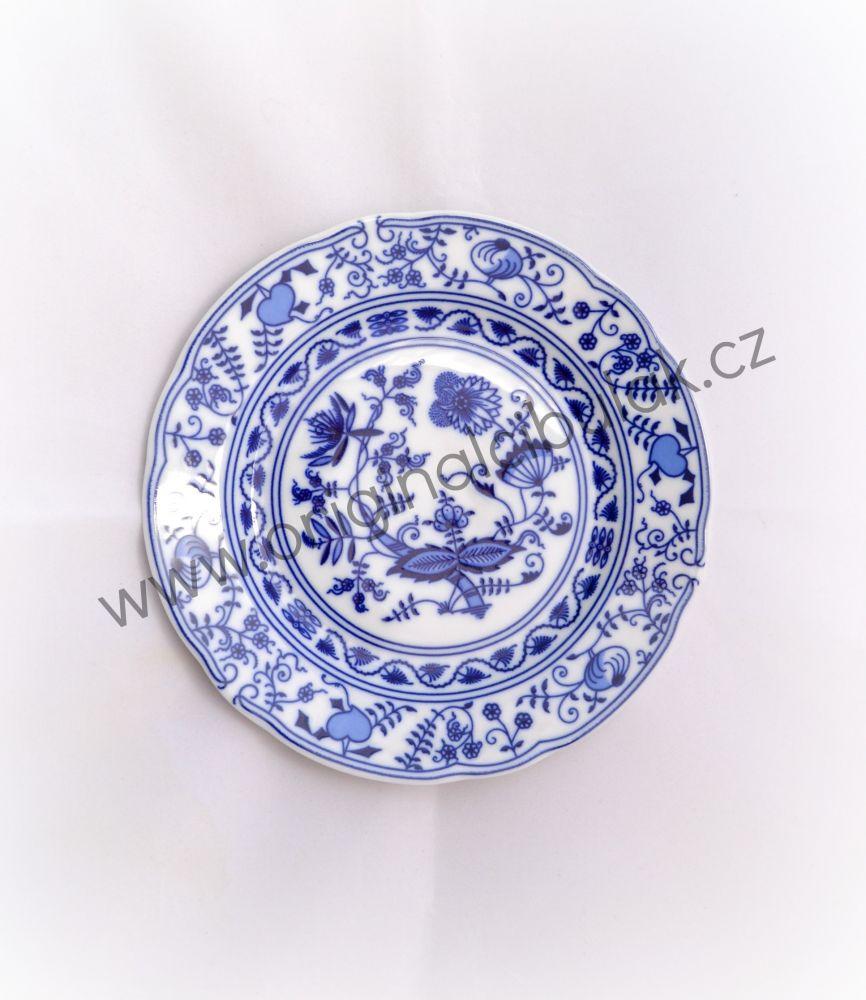 cibulák talíř mělký 25 cm Leander cibulákový porcelán