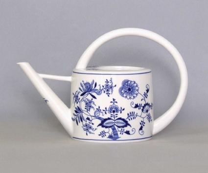 Cibulák konev zahradni 1,7 l originální cibulákový porcelán Dubí, cibulový vzor