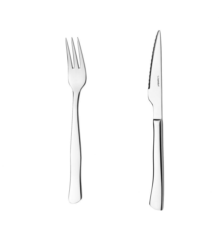 Vidlička na steak Perfect Berndorf Sandrik příbory nerez ocel 1 ks