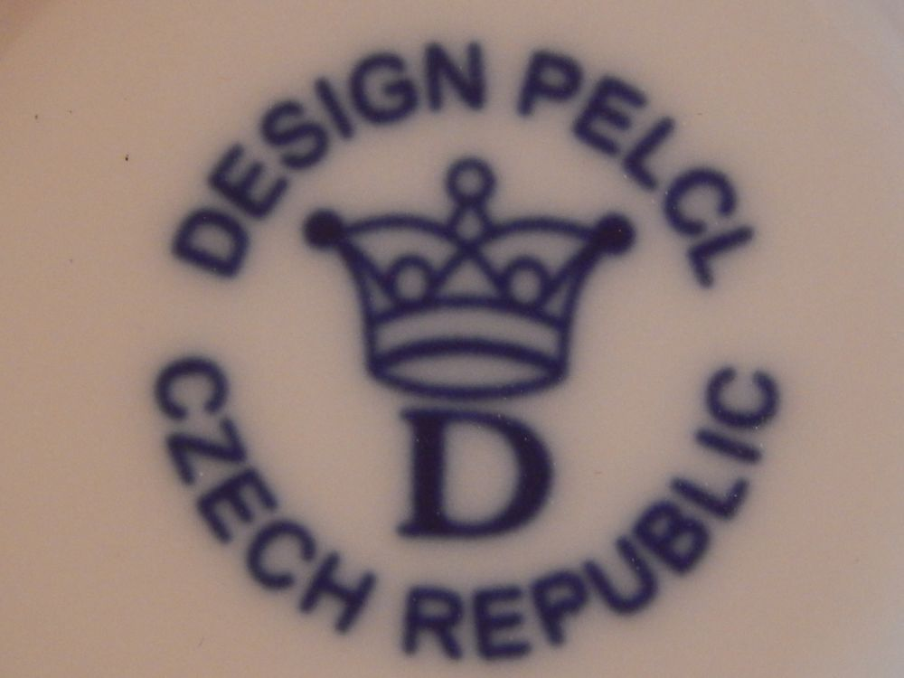 Mísa Bohemia Cobalt oválná na špagety- design prof. arch. Jiří Pelcl, cibulový porcelán Dubí