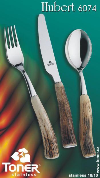 nůž Toner Hubert na steak pravé paroží 1 ks