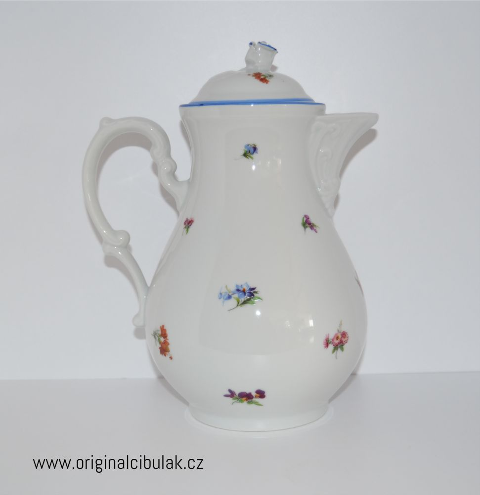 Konvice kávová házenka 1,55 l Český porcelán Dubí