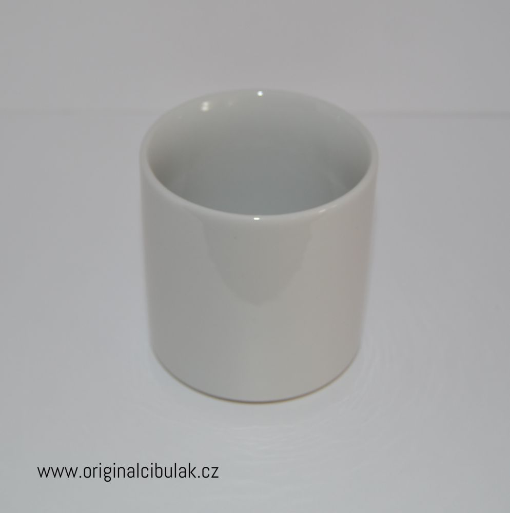 hrnek Pohár bílý Český porcelán a.s. Dubí