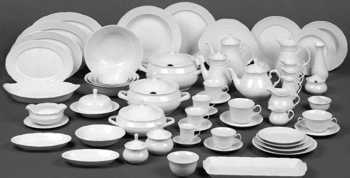 cibulák talíř hluboký Natalie Thun 23 cm 1 ks cibulákový porcelán Nová Role