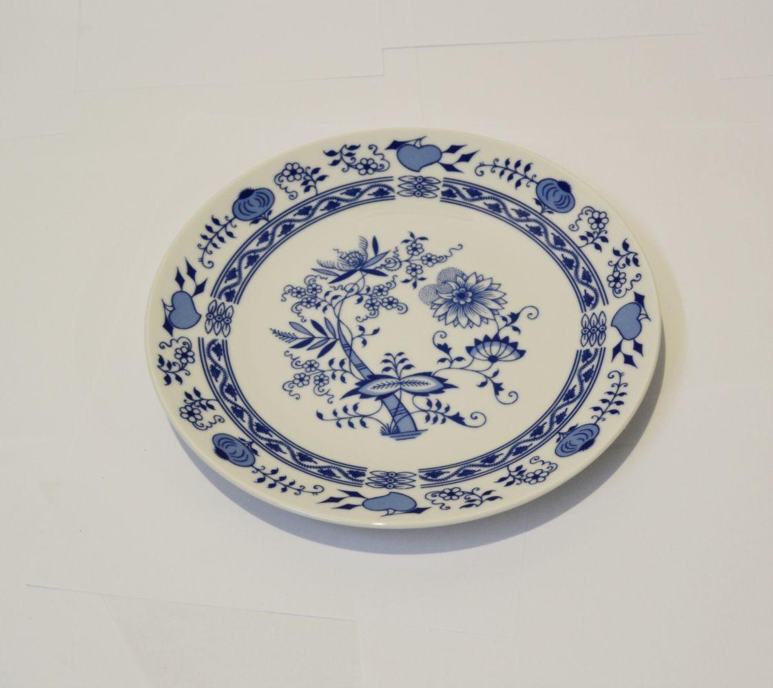 cibulák talíř koláčový 27 cm henriette Saphyr Thun 1 ks cibulákový porcelán Nová Role