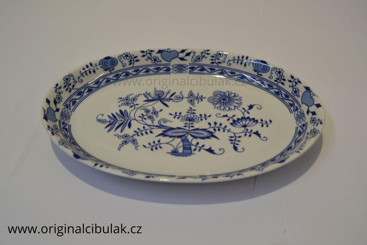 koš na chléb Henriette mísa oválná 32 cm henrieta Saphyr Thun 1 ks cibulákový porcelán Nová Role