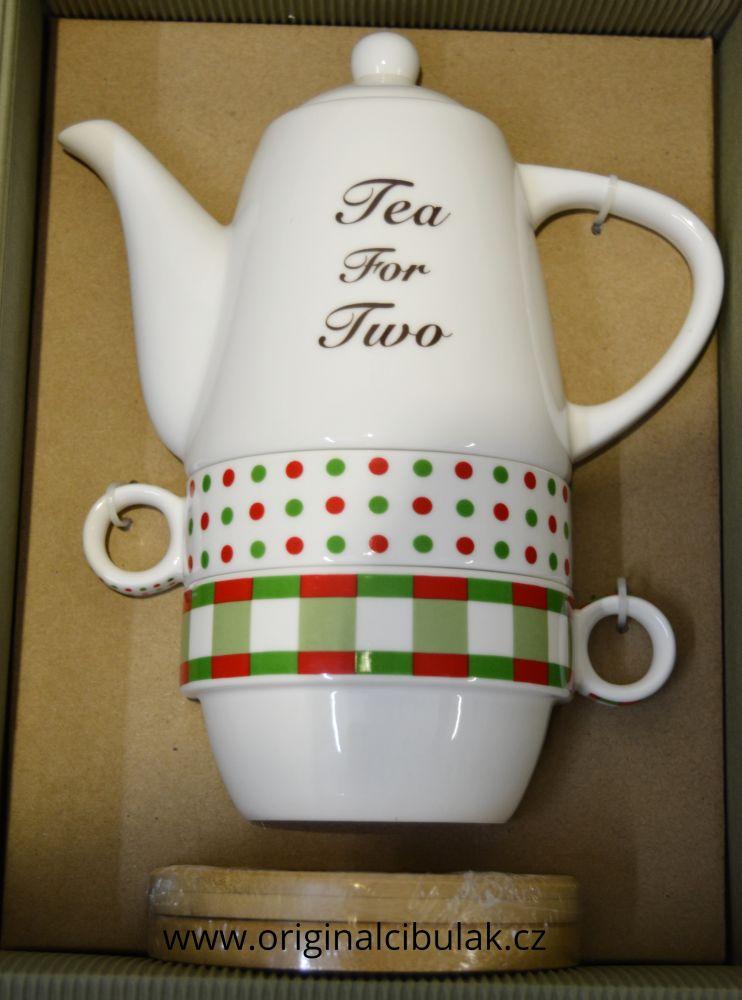 Čajová souprava pro dva 19 cm