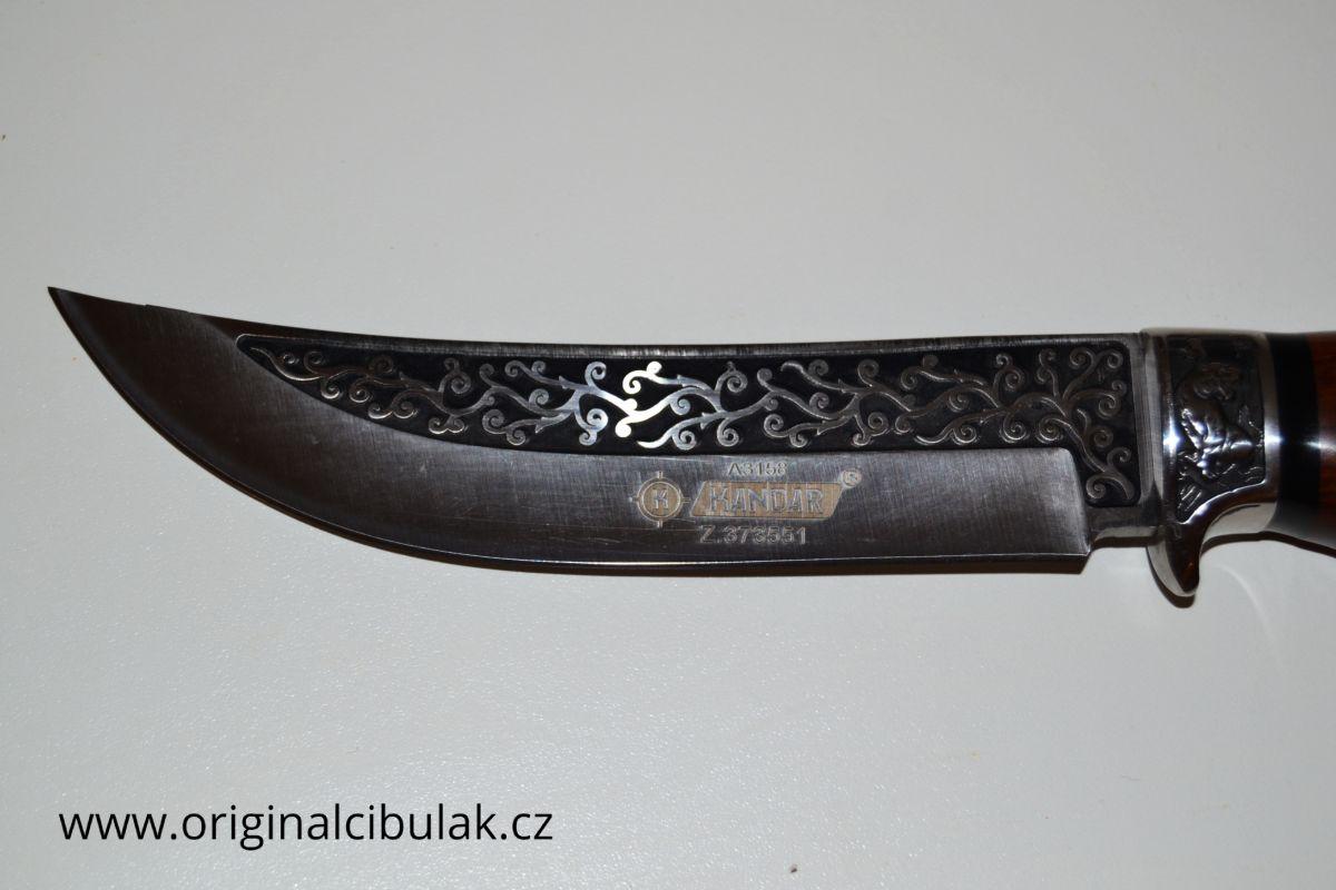 nůž kuchynský lovecký masivní Kandar A3158
