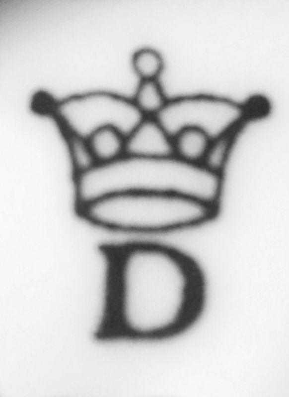 cibulák Šnek 6,5 cm originální český porcelán Dubí Royal Dux