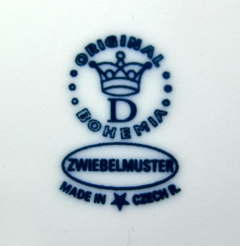cibulák Jehně s hlavou dolů 6 cm originální český porcelán Dubí Royal Dux Bohemia