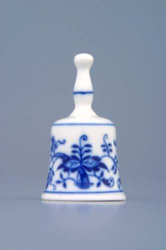 cibulák zvonek mini 6 cm originální český porcelán Dubí 2.jakost