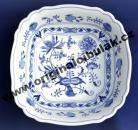 mísa cibulák salátová čtyřhranná italská 26 cm originální český porcelán Dubí