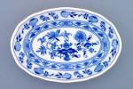 mísa cibulák salátová oválná 23 cm originální český porcelán Dubí 2.jakost